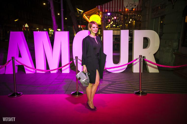 Osvárt Andrea a Glamour magazin gáláján