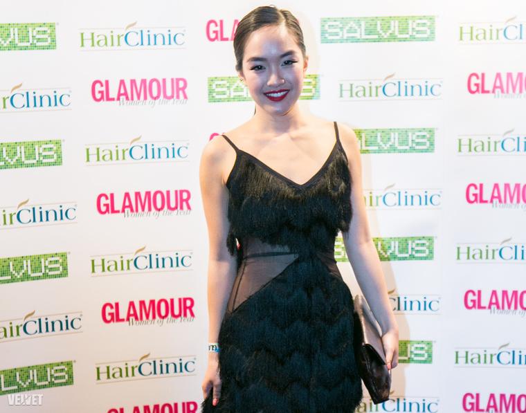 Hien a Glamour magazin gáláján