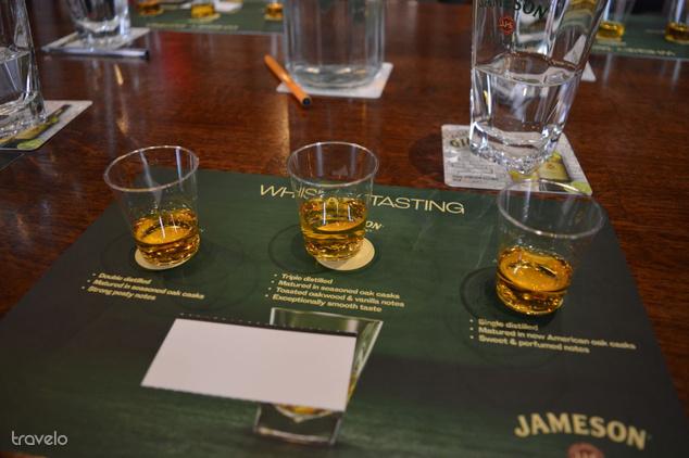 A Jameson kóstolószobájában pedig megtanulhatjuk, hogy mi a különbség az ír, a skót és az amerikai viszki között