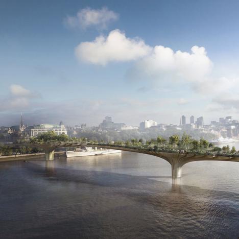 Egyszerűnek nevezte parkosított gyalogos hídját az ötletgazda Thomas Heathetwick, akinek tervére a Lambeth London Borough Council és a Westminster City Council is rábólintott a közelmúltban. A fákkal és bokrokkal benépesített 367 méter hosszú híd tényleges megvalósulása talán csak a költségvetésen bukhat meg, ugyanis jelenleg körülbelül 60-65 millió fontra (kb.170 millió forint) saccolják a költségeket.