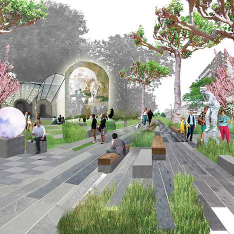 Ez a project vitathatatlanul London válasza a New York-i High Line-ra, amely keretében újragondolták a város központjában található, használaton kívüli vasúti útvonalakat és nyilvános zöldterületeket. A Temze mentén kiépített parkosított sétány megtervezését az Erect Architecture építészeire illetve a J&L Gibbons tájépítészeire bízta a városvezetés.