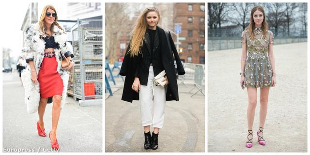 Anna Dello Russót, a japán Vogue divatszerkesztőjét elkényeztetik a luxuscégek - nem is veszi fel kétszer ugyanazt a ruhát. Kristina Bazan (a Kayture bloggere) és Chiara Ferragni (a TheBlondeSalad írója) a legnépszerűbb bloggerek közé tartoznak - ki is használják a cégek és ők maguk is a milliós rajongótábort.