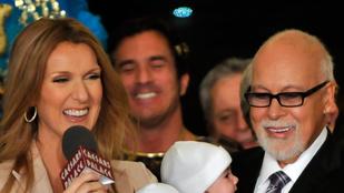 Celine Dion férjét csövekkel táplálják