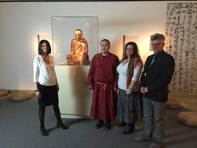 A 900 éves szobrot a Drents Múzeum váratlanul visszakérte Budapestről