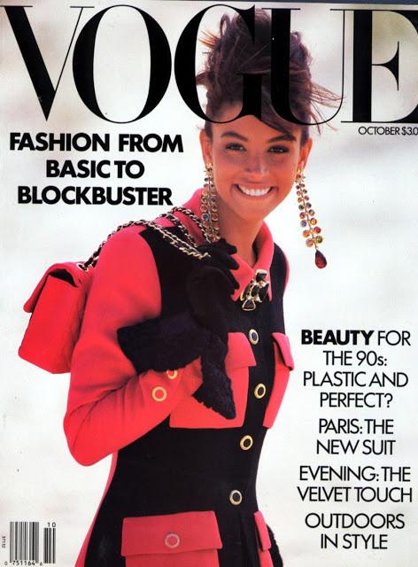 Kara Young 1989-ben is felkerült a Vogue elejére.