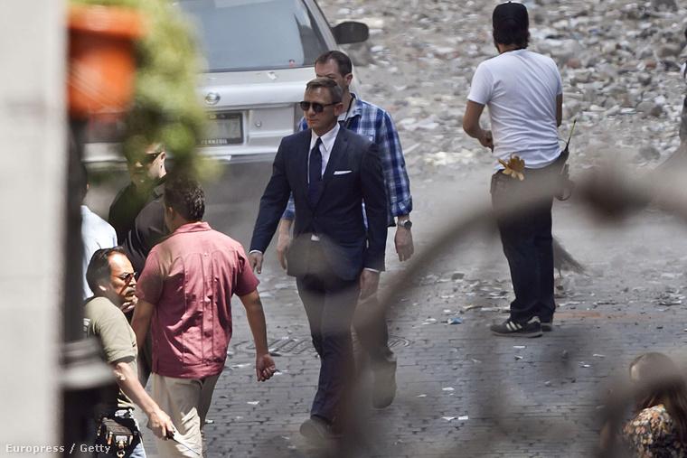 Mexikóban, Mexikóvárosban forgatják a James Bond legújabb részét, a Spectre-et.