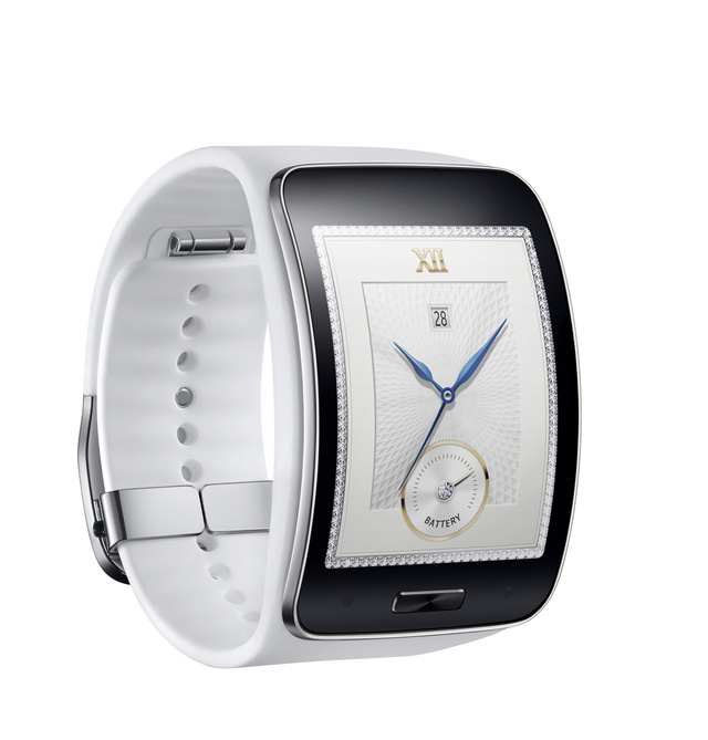 Samsung Gear S Pure White 3
