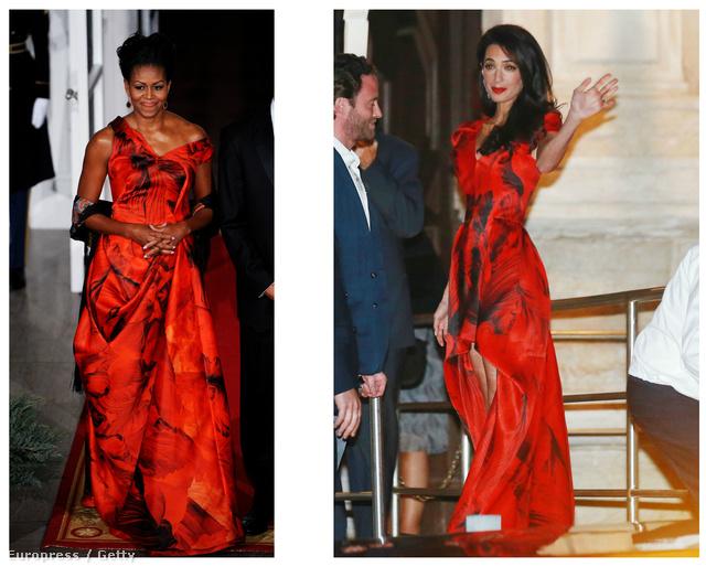 Celebnők Alexander McQueen-ruhában
