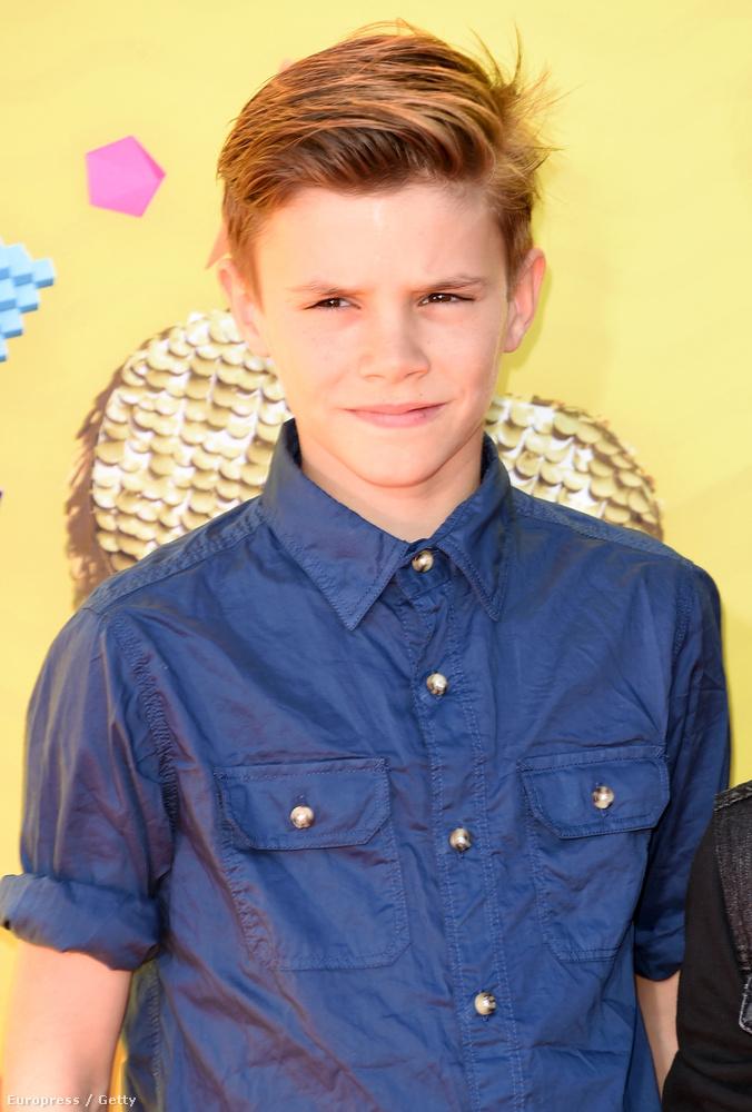Romeo Beckham 12 éves