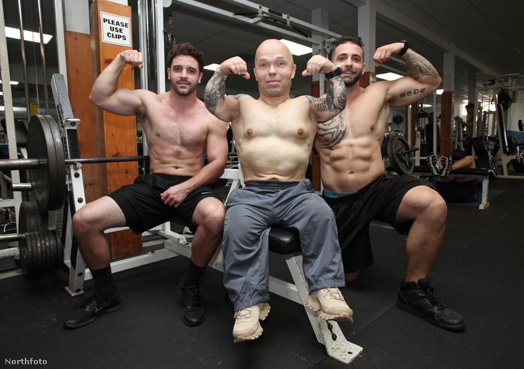Anton Kraft és edzőtársai
