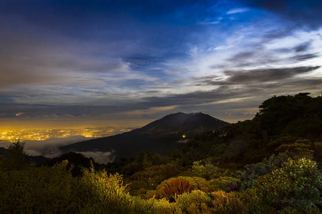 Turrialba-vulkán, Costa Rica