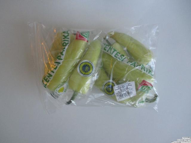 A Greenpeace által megvásárolt paprika