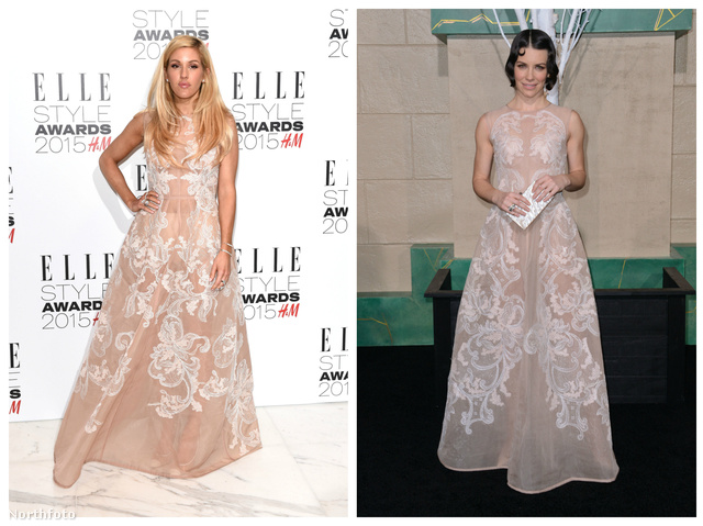 Celebnők Alberta Ferretti-ruhában