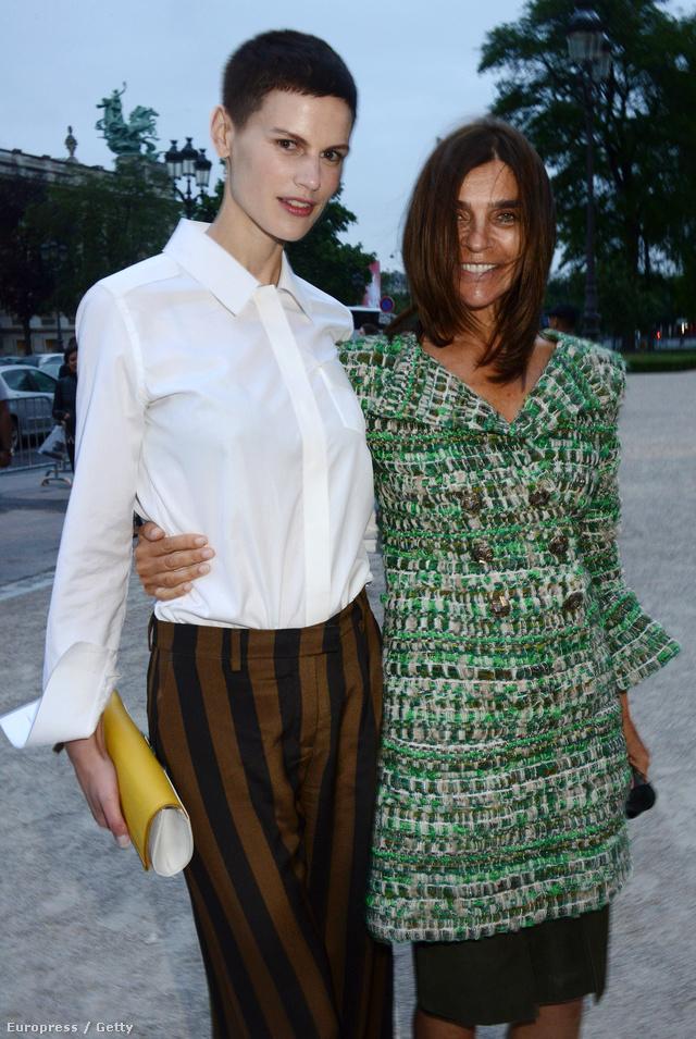 Carine Roitfeld és Saskia de Brauw is felkerültek a style.com idei listájára.