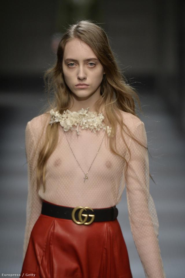 A Gucci új kreatív tervezője,Alessandro Michele gondoskodott róla, hogy mindenki a kollekciójáról beszéljen.