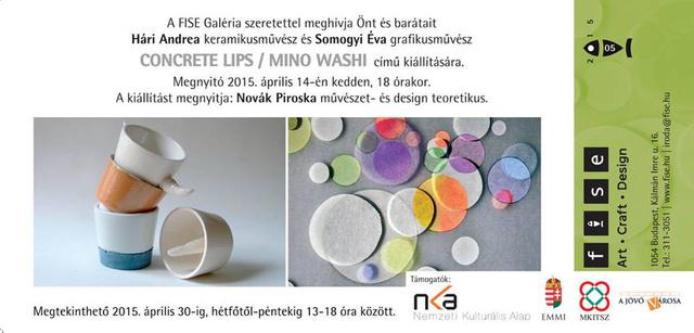 Nagy rajongói vagyunk a hazai kortárs művészek munkáinak, ezért is estünk zavarba a Concrete Lips projectje láttán, amiből április 14-én kiállítás nyílik az ötödik kerületi FISE Galériában.