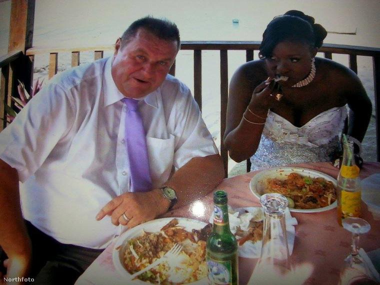 Amikor házasságot kötött David Tungate és Ndey