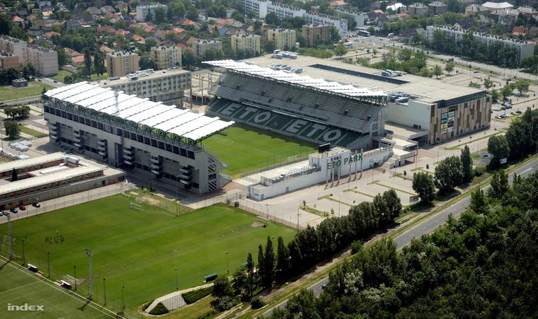 4850 Gyor ETO Park  es a Stadion HSzabo Sandor felvetele