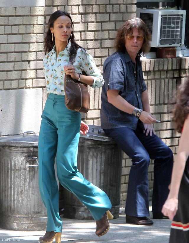 Zoe Saldana a Vérkötelék című film egyik jelenetében.