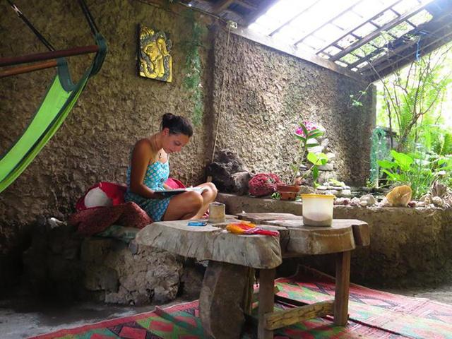 Rita otthon Balin