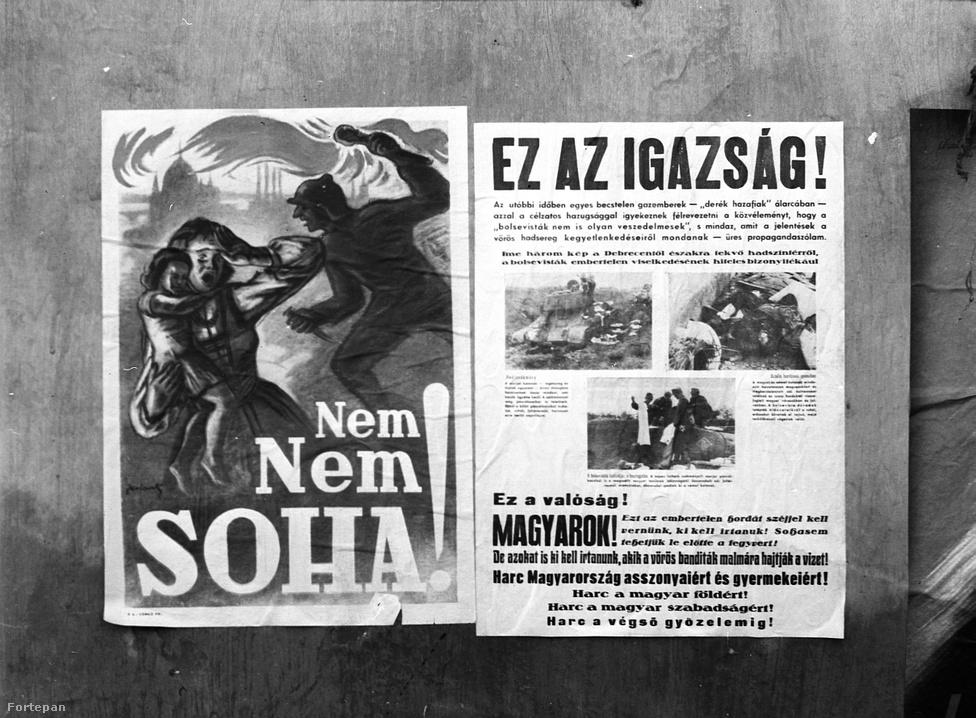A civilben gépészmérnök Lissák 1944-ben falragaszokat, hivatalos rendeleteket, nyilaskeresztes plakátokat örökített meg. A fotóin látható, plakátokkal leragasztott portálok olyan kiürített üzletek lehettek, amelyeknek zsidó tulajdonosai ekkor már csillagos házakban vagy gettókban rettegtek a túlélésért. Lissák képeivel idézzük fel a hetven évvel ezelőtt történteket.