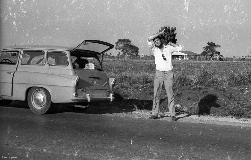 Az elkövetőt Mészáros Zoltánnak hívják, aki amellett, hogy rovartanász és kaktusztudós, egy jószemű és a képei alapján láthatóan tudatosan komponáló, a hobbiját komolyan vető amatőrfotós. A hetvenes évek közepén három évet dolgozott kiküldetésben a karibi létező szocializmusban, ahol 2000 képet készített, ezekből mutatunk néhányat.