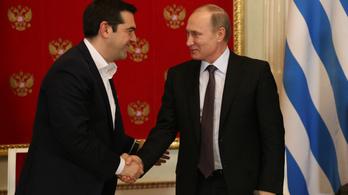 Ahol a szükség, ott a segítség: Putyin már a jövő héten több milliárd eurót ad a görögöknek