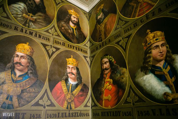 Az igazat megvallva a festő, Gaál Lajos egy-két királyt nem talált el, de mindegy is
