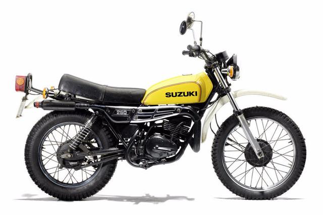 Suzuki TS250 - James May