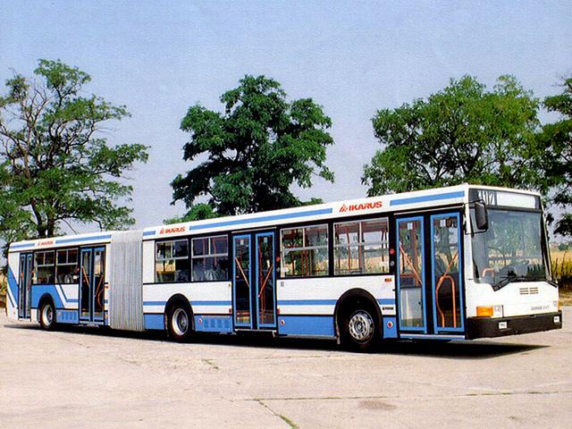 Az Ikarus 417 a világ első alacsonypadlós csuklósbusza volt. Világsiker lehetett volna, ha nincs nagy bajban a gyár