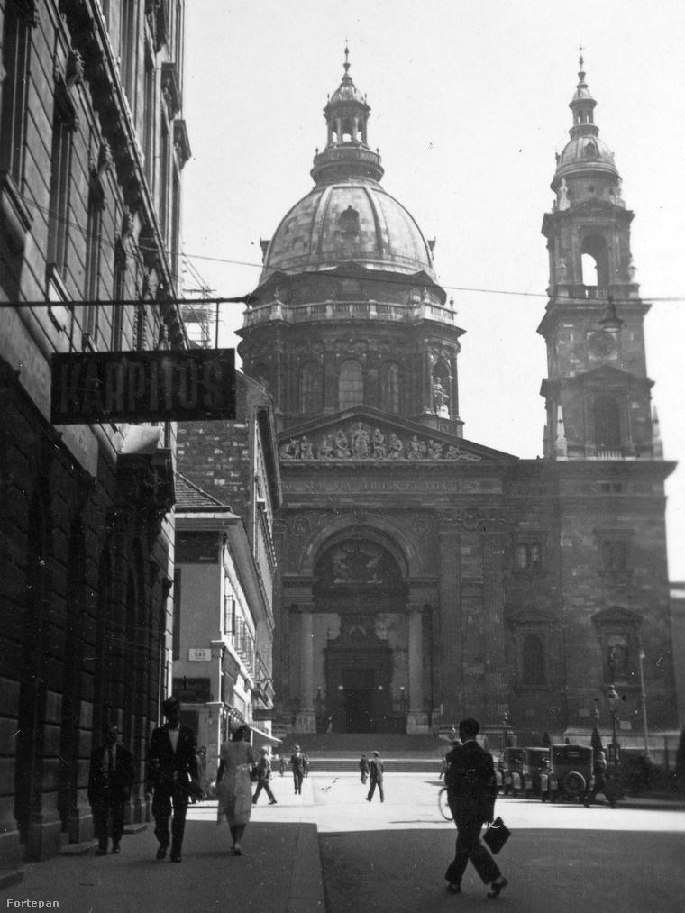 Így nézett ki a Szent István-tér a 30-as években