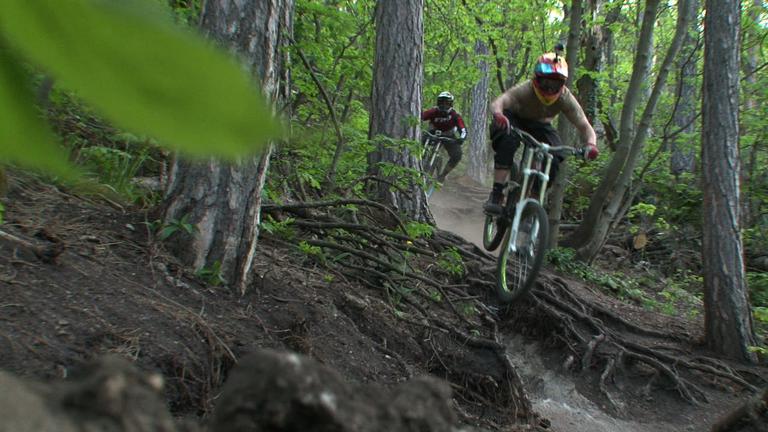 Extrém kerékpárosok vs zöldek: csata a Normafán