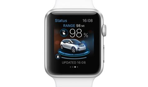 BMW és a Porsche alkalmazás Apple órára