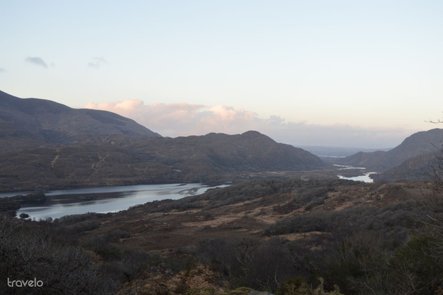 Ladies' View kilátópont a Ring of Kerry mentén