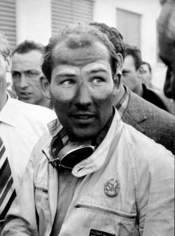 Moss az 1955-ös Mille Miglia után