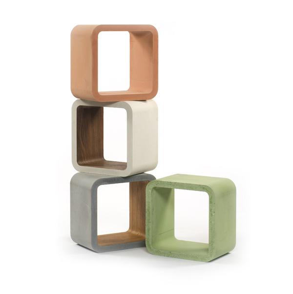 Kisebb, beltéri és kültéri formák is készülnek betonból.