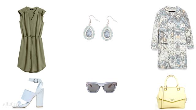 Ruha - 3990 Ft (H&M), fülbevaló - 1490 Ft (F&F), kabát - 25995 Ft (Zara), cipő - 56 font (Topshop), napszemüveg - 5595 Ft (Mango), táska - 80,82 euró (Fiorelli/Asos)