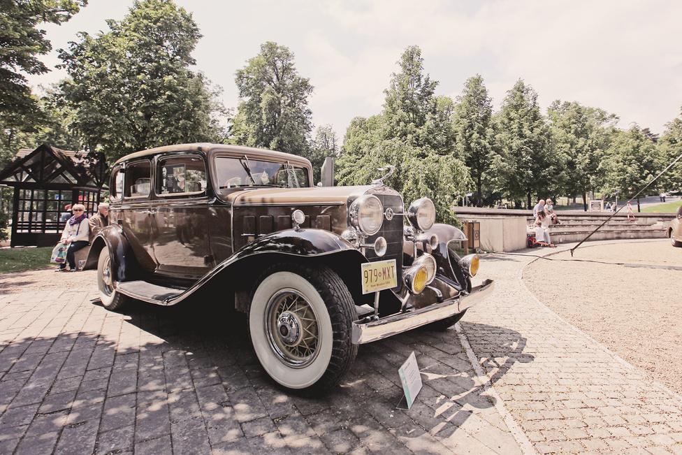 Az átlagos filmrajongó számára talán kevésbé emlékezetes ez a La Salle 345, pedig az Aston Martinnal ellentétben a konkrét példány valóban szerepelt hollywoodi klasszikusban, a Keresztapában. Az első rész első jelenetében Sonny Corleone ezzel az autóval érkezett meg az esküvőre, ma pedig a keszthelyi Cadillac-múzeum tárlatát gazdagítja.