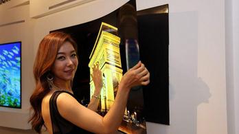 Szupervékony tévét fejlesztett az LG