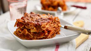 Húsos rakott tészta kicsit olaszosan