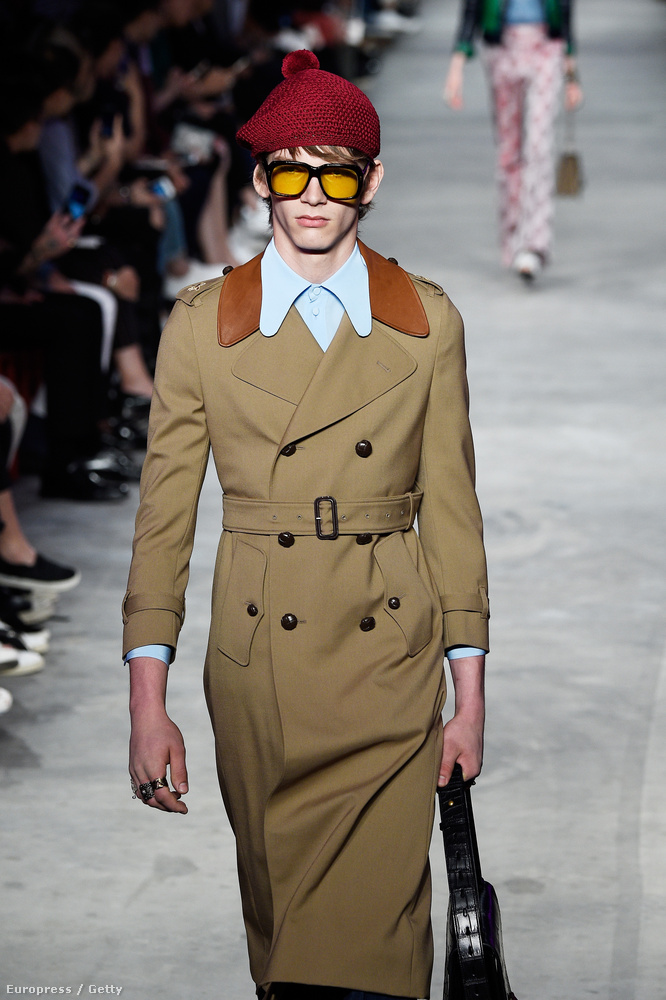 Ez a 2016-os tavasz-nyári kollekció, de úgy néz ki, a Guccinál nagyon hűvös tavasznyárra készülnek