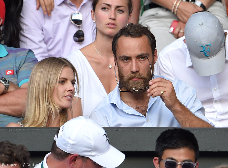 A 28 éves James William Middleton igazából egy hajas Jude Law