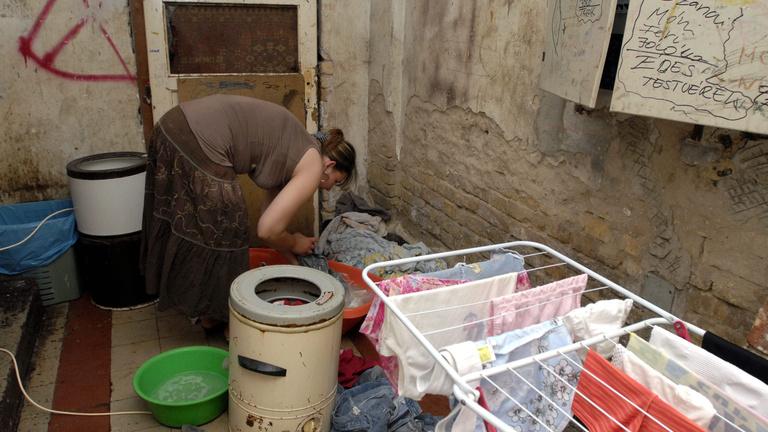 Lakásháború a szegények ellen