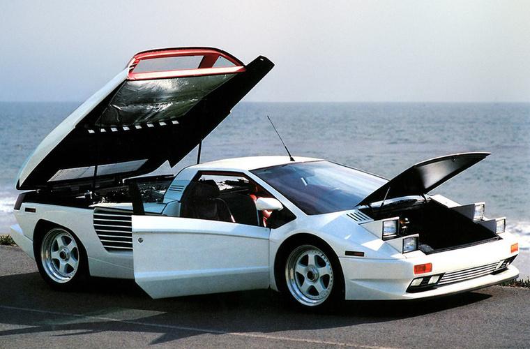 Cizeta-Moroder V16T: Első blikkre Lamborghini Diablónak tűnik, és ez nem is véletlen