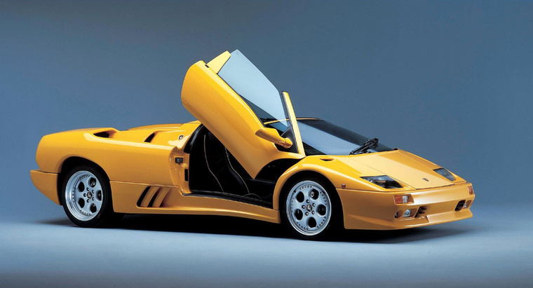 Lamborghini Diablo: A poszterautók egyik királya
