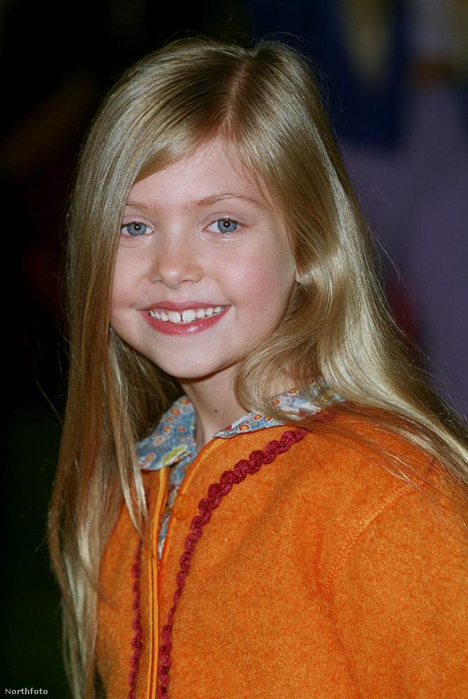 Ez a szőke, cuki és jólfésült kislány színész akart lenni...