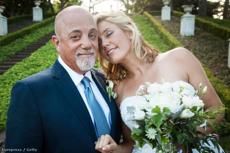Billy Joel július 4-én vette el Alexis Rodericket, aki 33 évvel fiatalabb nála