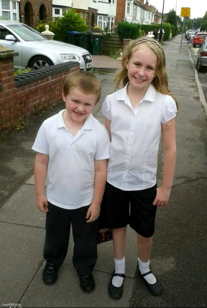 9 évesen Rebekah Varney egy átlagos kinézetű kislány volt