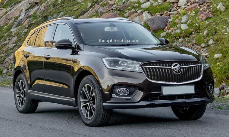 A Buick márka eleve nem igazán erős karakterű, így aztán a BX7 ugyanúgy nagyszerűen elférne benne, mint az Opel és a Chevrolet némely modellje