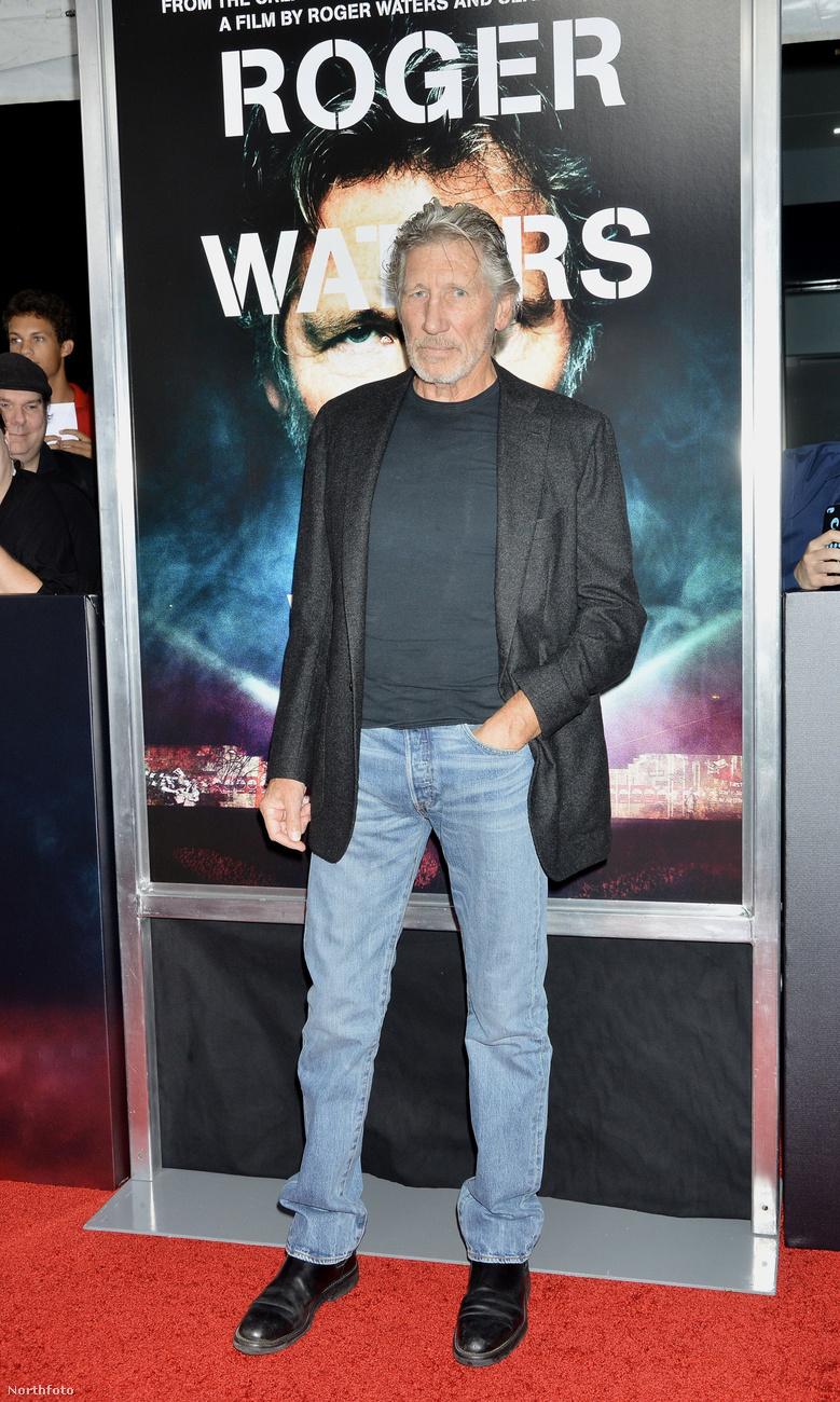 Viszont ha már Roger Watersről van szó, mutatunk róla  is egy képet: így fest most.